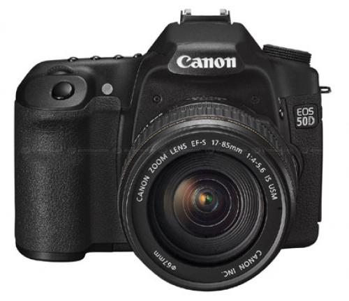 Canon EOS 50D + Lens 18-200 IS