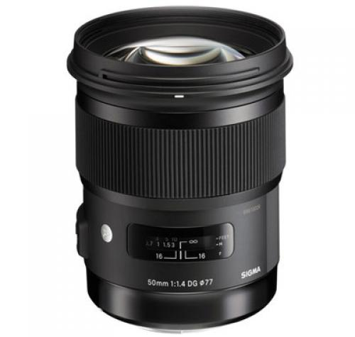 لنز Sigma 50mm f/1.4 DG HSM Art Lens for Canon EF